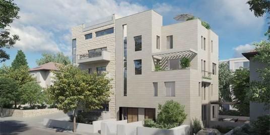 Роскошные апартаменты в Рехавии