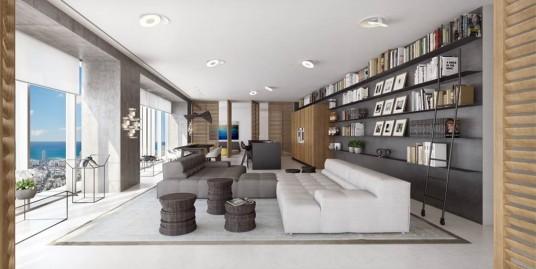 Захватывающие аппартаменты – половина этажа