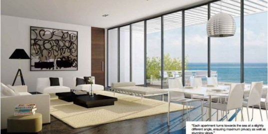 Апартаменты в Арсуфе с панорамным видом на море