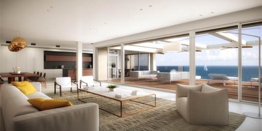 Апартаменты в стиле хай-тек в Арсуф с уникальным видом на море