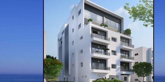 Новый проект с идеальным расположением в центре Тель Авива