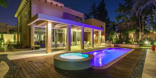 Изысканный ультра-роскошный дом в Герцлии Питуах