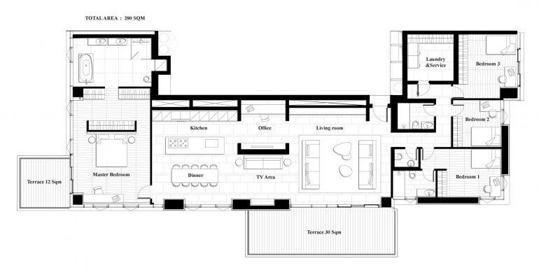 Новая квартира в элитном здании купить